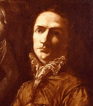 Giovanni Antonio Burrini - Self-portrait