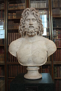 Bust of Zeus in the British Museum
