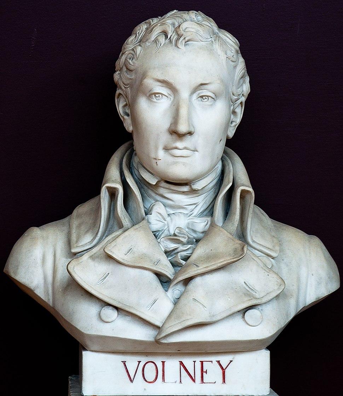 Buste de Constantin-François Chassebœuf de La Giraudais - comte Volney - dit Volney -- Salle du serment du jeu de paume -- Versailles