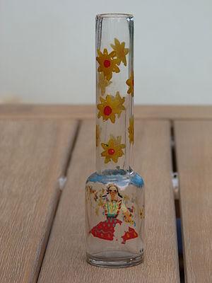 Pálinka - Hungarian pálinka bottle