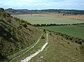 By-Way descending Fovant Down - geograph.org.uk - 234076.jpg