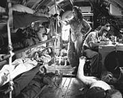 C-46 medical flight
