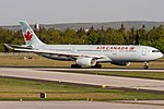 C-GFAH Air Canada Airbus A330-343 coming in from Montreal (YUL) @ Frankfurt (FRA) 20.04.2018 (40886239374).jpg