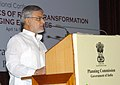 C.P. Joshi addressing at the inauguration of the International Conference on 'Dynamics of Rural Transformation in Emerging Economies', organized by the Planning Commission, in New Delhi on April 14, 2010.jpg