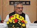 C.P. Joshi addressing at the signing ceremony of the State Support Agreement (SSA) between the Ministry of Road Transport & Highways and the State Governments of Bihar, Kerala and Jammu & Kashmir, in New Delhi.jpg