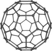 Interstellar fullerenes may help find solutions for earthly matters 170px-C60a