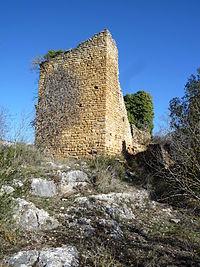 CASTELL DE LA VALL D'ARIET - P1090237.JPG