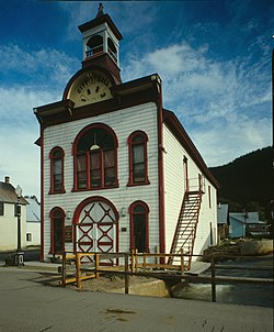 Old City Hall, built 1883. Photo: Historic American Buildings Survey
