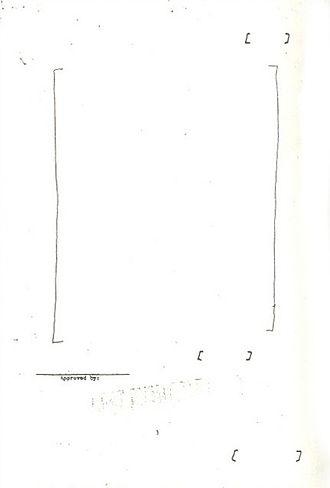 Theo Saevecke - Image: CIA Saevecke 8. Januar 1953 Seite 3