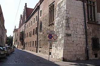 Świętej Anny Street, Kraków - Image: CM UJ