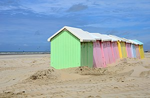 Beach hut - Beach huts in Berck, Pas-de-Calais (France)