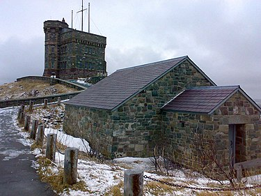 Cabot Tower located in St John's Cabot tower.jpg