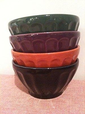 Café au lait - Café au lait bowls in a style traditionally used in France