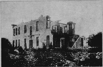 Edward Martineau Perine - Perine Mansion Ruins.