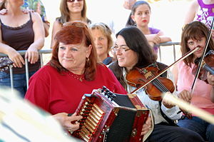 "Music session - A Cajun music ""jam session"""