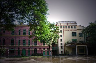 Calcutta Boys' School - Frichley Building and Renfrew House