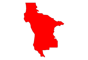 A very basic map of San Mateo County in California