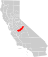 California county map (Madera County highlighted).svg