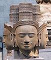Cambogia, brahma, da phnom bok, stile di bakheng, 890-910 ca. 01.JPG