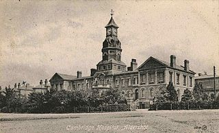 Cambridge Military Hospital Former hospital in England