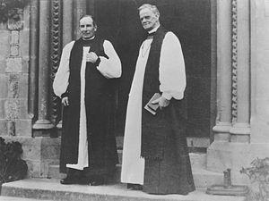 Campbell West-Watson - Campbell West-Watson (left) and Churchill Julius in 1940