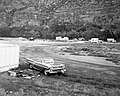 Camper use of overflow area, South Campground overcrowding group area and in gravel mixing area. ; ZION Museum and Archives (75efb980d449403996ba70806ec4c6ce).jpg