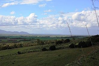Province of Oristano - A panorama of Oristanese Campidano.