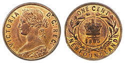 Canada Newfoundland Victoria 1 Cent 1885 Jpg