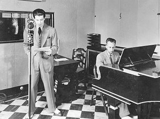Lord Nelson Hotel - Actor Austin Willis and pianist Dick Fry perform from the CHNS Studio in the Lord Nelson Hotel, 1928