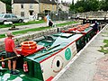 Canal boat on the way down the Kennet and Avon canal (6) - geograph.org.uk - 1443383.jpg