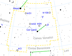 Canes Venatici constellation map.png