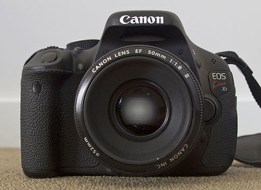 Canon EOS 600D with Canon EF 50mm F1.8