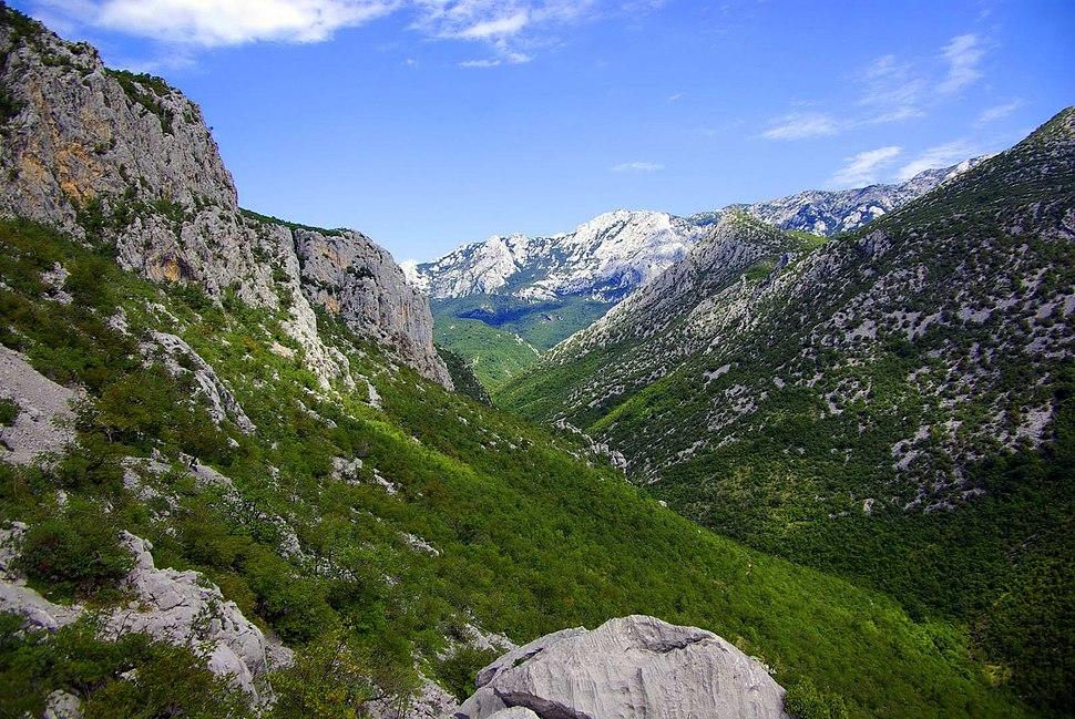 Canyon of Paklenica