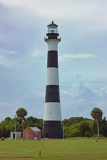 Cape Canaveral Light lighthouse in Florida, United States