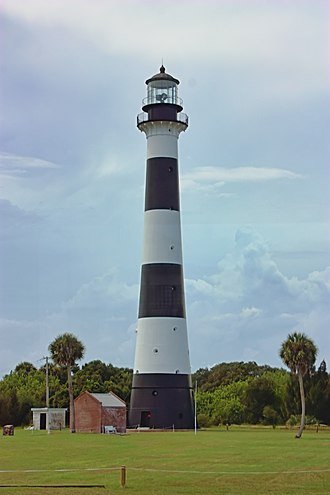 Cape Canaveral Light - The Cape Canaveral Lighthouse in 2009, after intensive restoration.
