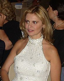 Debora Caprioglio nel 2003