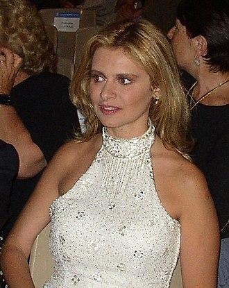 Debora Caprioglio - Debora Caprioglio at the Taormina Film Fest in June 2003