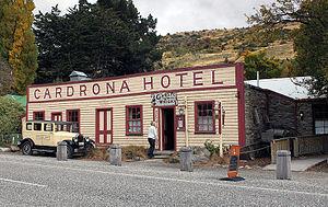 Cardrona, New Zealand - The Cardrona Hotel