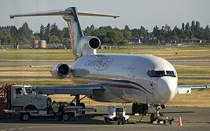 Cargojet - Boeing 727-200F at Vancouver International Airport