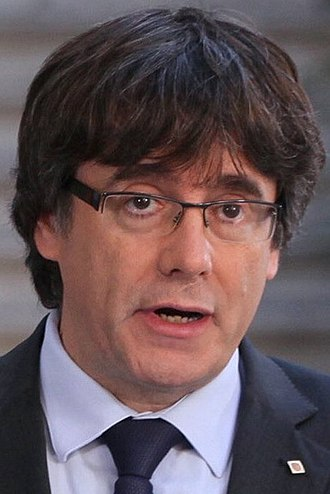Catalan regional election, 2017 - Image: Carles Puigdemont 2017 (cropped)