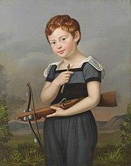Portrait of Oskar van Herzeele as a Boy