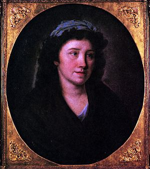 Caroline von Wolzogen - Caroline von Wolzogen in a portrait by Philipp Friedrich Hetsch, circa 1800