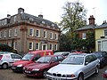 Cars parked in Royal Square Dedham - geograph.org.uk - 1554191.jpg