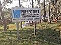 Cartel Puerto Rico (Provincia de Misiones, Argentina) - Prefectura Naval Argentina - Prefectura Puerto Rico (03).jpg