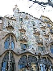 casa Batlló, Barcelona (1905–1907)