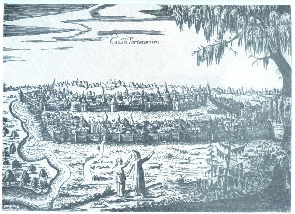 CasanTartarorum by Olearius