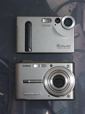 Casio Exilim - EX-S1 and EX-S600 compared