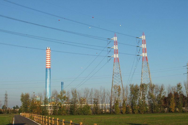 Centrale elettrica - Foto di Luigi Chiesa