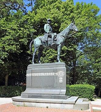 Equestrian statue of Ferdinand Foch, London - The original statue, in Cassel