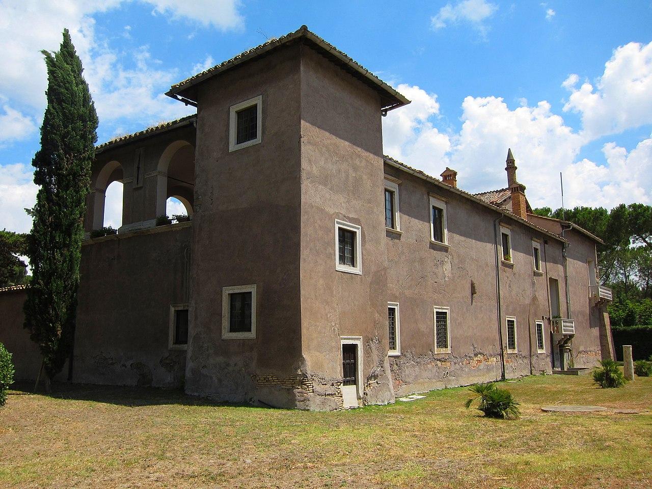 File:Castello della Magliana, esterno 2 - panoramio.jpg ...